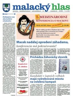 Malacký hlas č. 17/2017